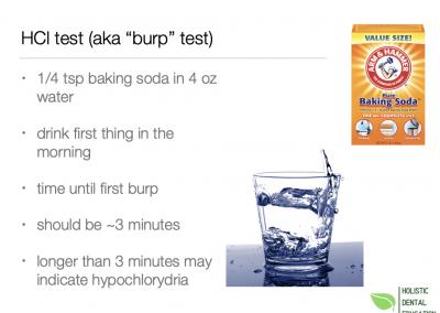 burp test